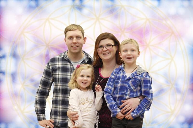 Familie Still, Blume des Lebens, Young Living